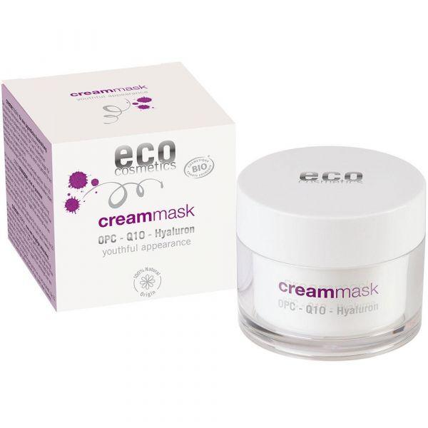 Eco Cosmetics Crememaske mit OPC Q10 und Hyaluron