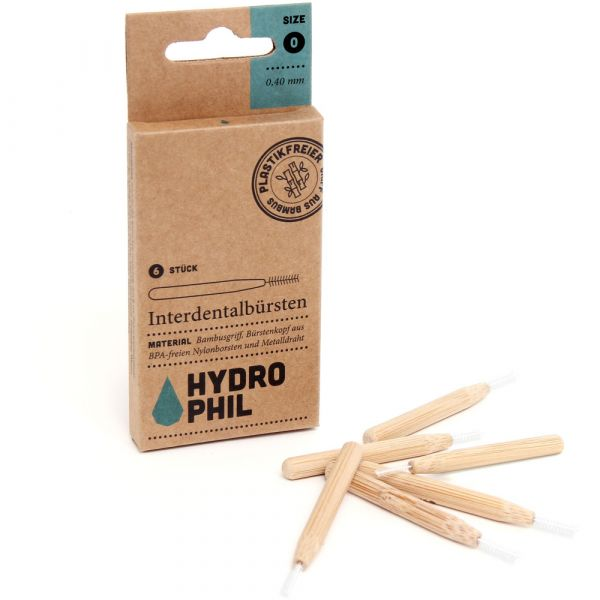 Hydrophil Interdentalbürsten 0,40mm
