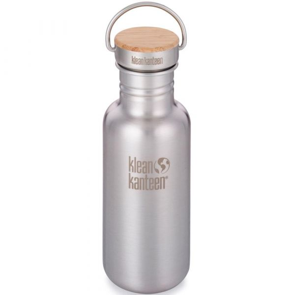 Klean Kanteen Reflect bamboo gebürstet 532ml