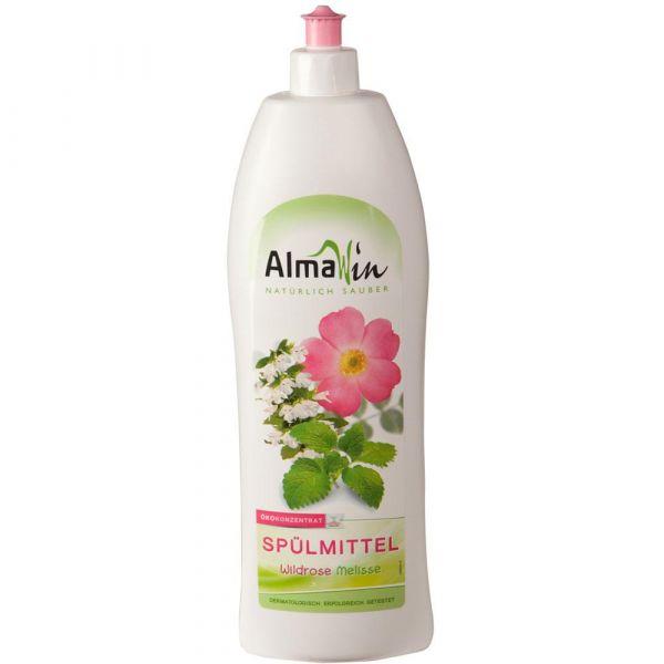 Almawin Spülmittel Wildrose Melisse 1 Liter