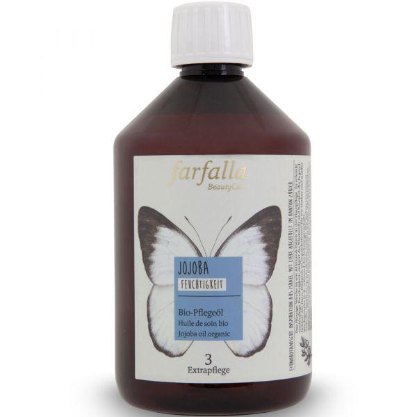 Farfalla Jojoba Bio-Pflegeöl 500ml