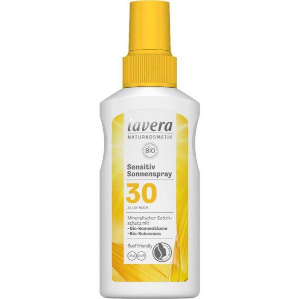 Lavera SENSITIV SONNENSPRAY LSF 30 Bio-Sonnenblume & Bio-Kokonuss