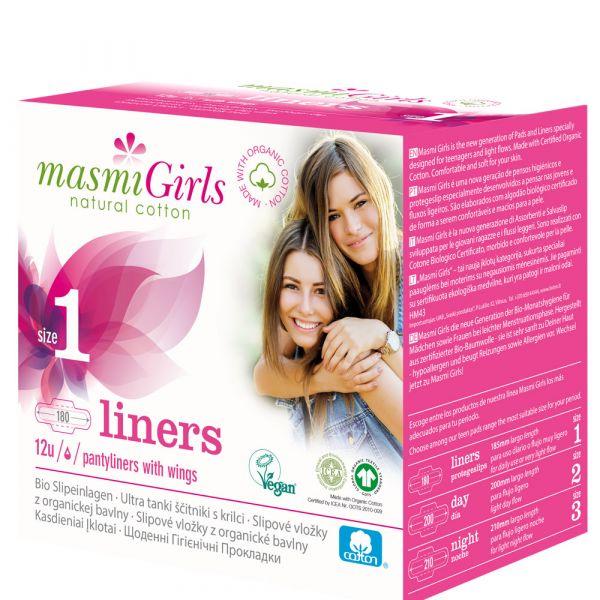 Masmi Bio Slipeinlagen Girls 1