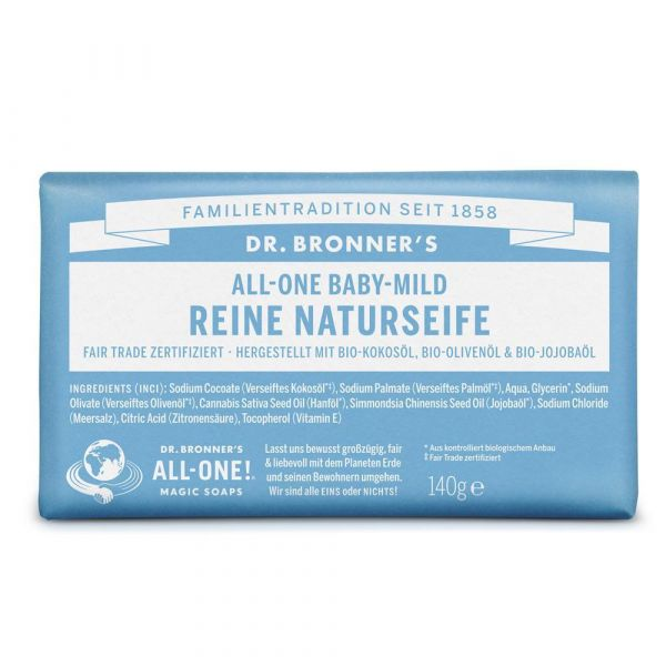 Dr. Bronners Barsoaps Neutral Mild