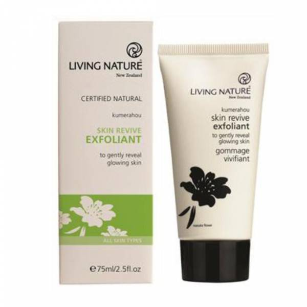 Living Nature Skin Revive Exfoliant Revitalisierendes Waschpeeling