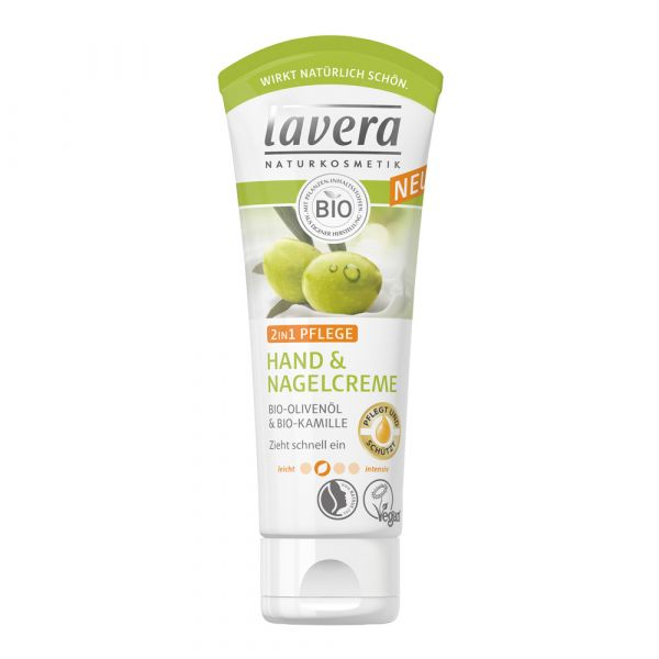 Lavera Hand & Nagelcreme 2in1 75ml