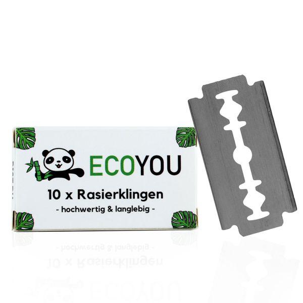 ECOYOU Rasierklingen für Rasierhobel 10 Stück