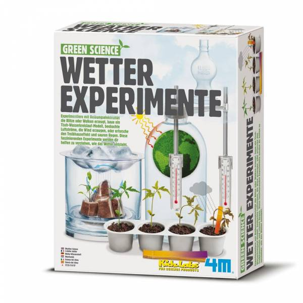 Green Science Wetter Experimente