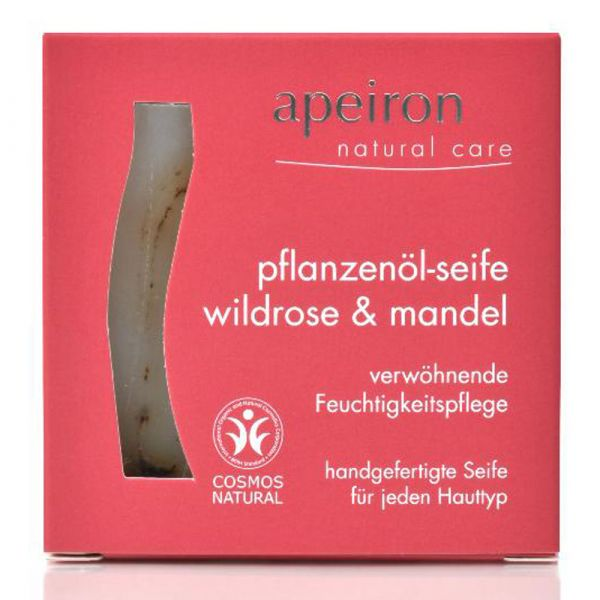 Apeiron Wildrose & Mandel-Pflanzenöl Seife