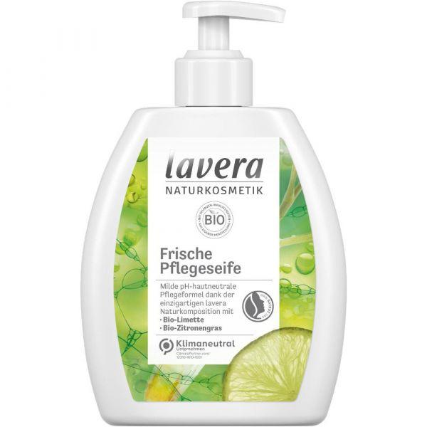 Lavera FRISCHE PFLEGESEIFE Bio-Limette & Bio-Zitronengras 250ml