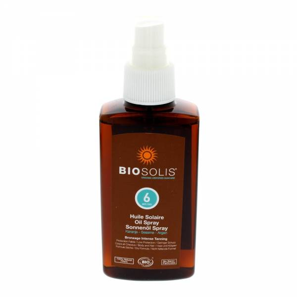 Biosolis Sonnenöl Spray SPF6