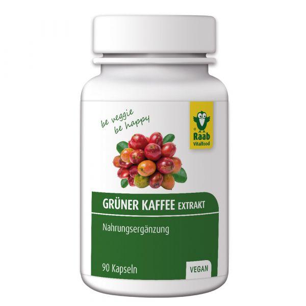 Raab Vitalfood Grüner Kaffee Extrakt 90 Stück