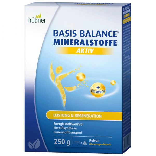 Hübner Basis Balance Mineralstoffe Aktiv 250g