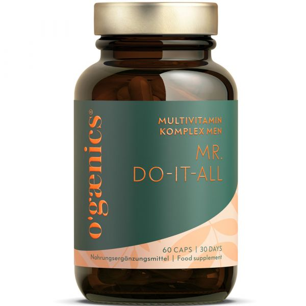 Ogaenics MR ONE-A-DAY MULTIVITAMIN-KOMPLEX MEN 60 Kapseln