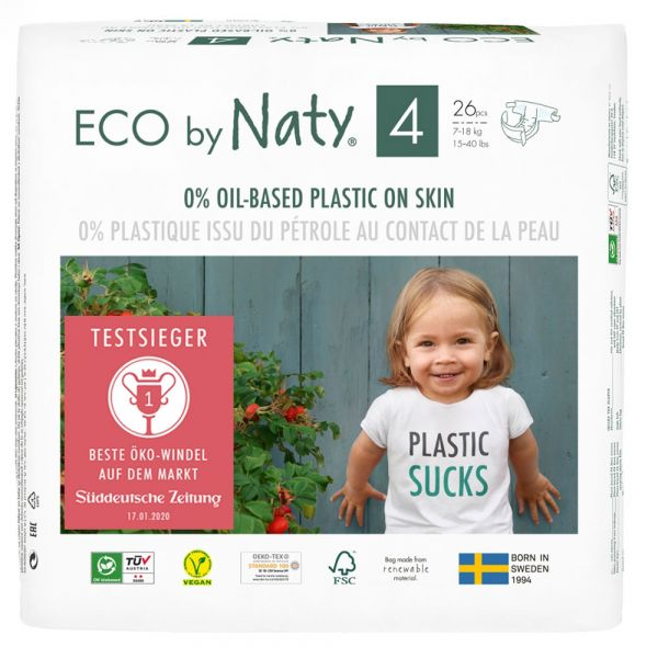 Naty Eco Windel Gr. 4 7-18 kg