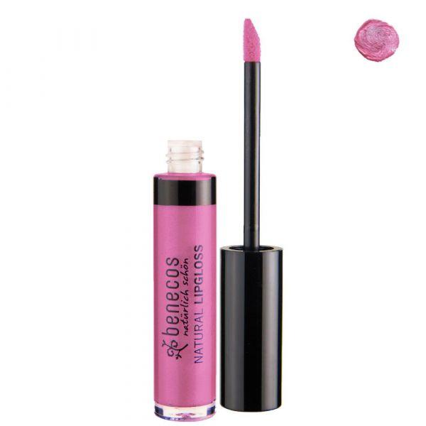 Benecos Natural Lipgloss pink bloss