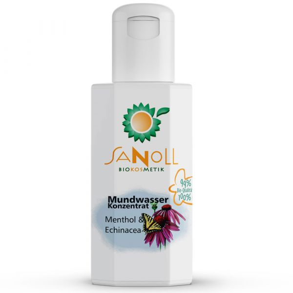 Sanoll Mundwasser Menthol-Echinacea