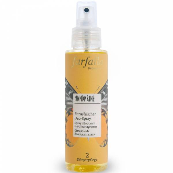 Farfalla Mandarine Zitrusfrischer Deo-Spray 100ml