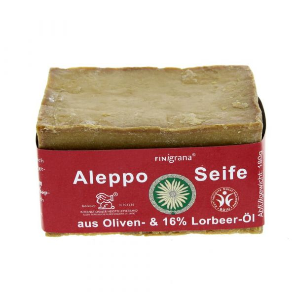 Finigrana Alepposeife mit 16% Lorbeer