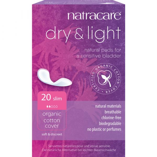 Natracare Dry + Light Incontinence