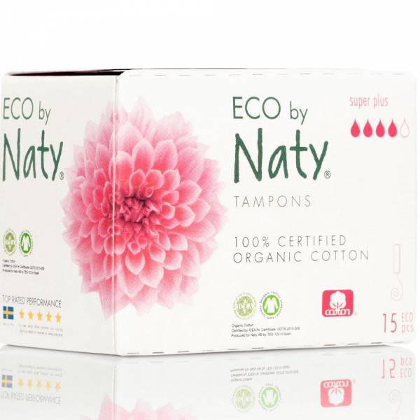 Naty Tampons super plus