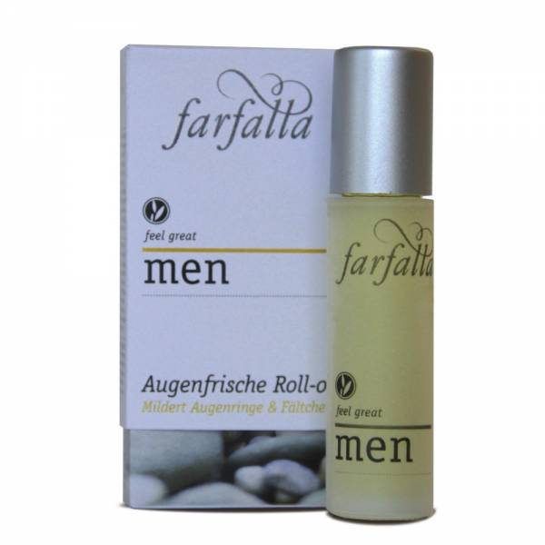 Farfalla Men Augenfrische Roll On