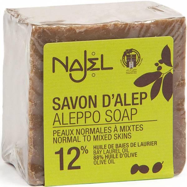 Najel Aleppo-Seife 12% Lorbeeröl