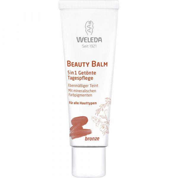 Weleda Beauty Balm 5 in 1 Getönte Tagespflege bronze