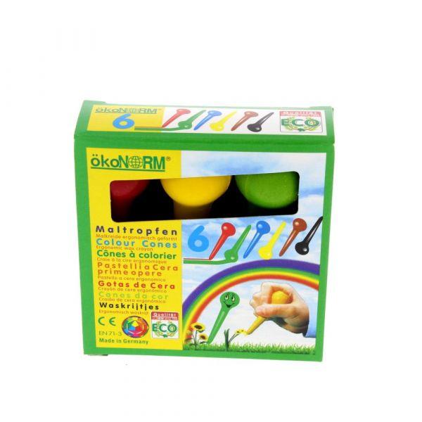 Oekonorm Maltropfen, 6 Farben