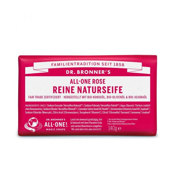Dr. Bronners Barsoaps Rose