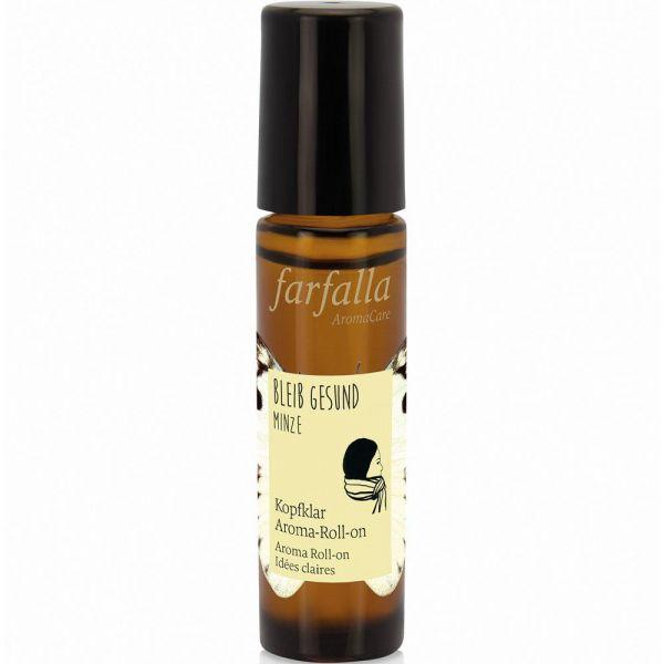 Farfalla bleib gesund Minze Kopfklar Aroma-Roll-on