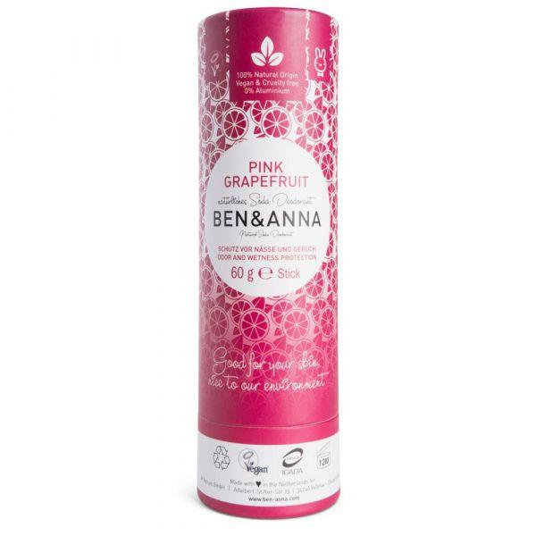 Ben & Anna Deodorant Papertube Pink Grapefruit