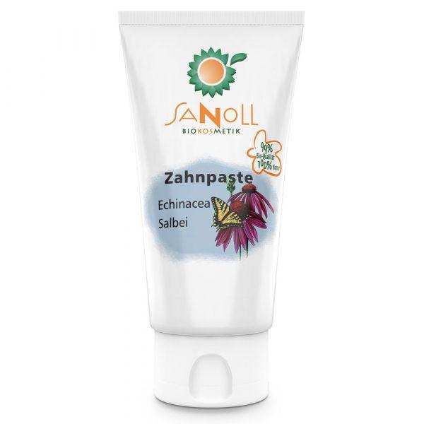 Sanoll Zahnpaste Echinacea-Salbei