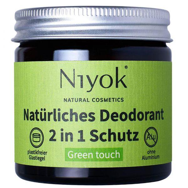 Niyok Deodorant 2in1 Green Touch
