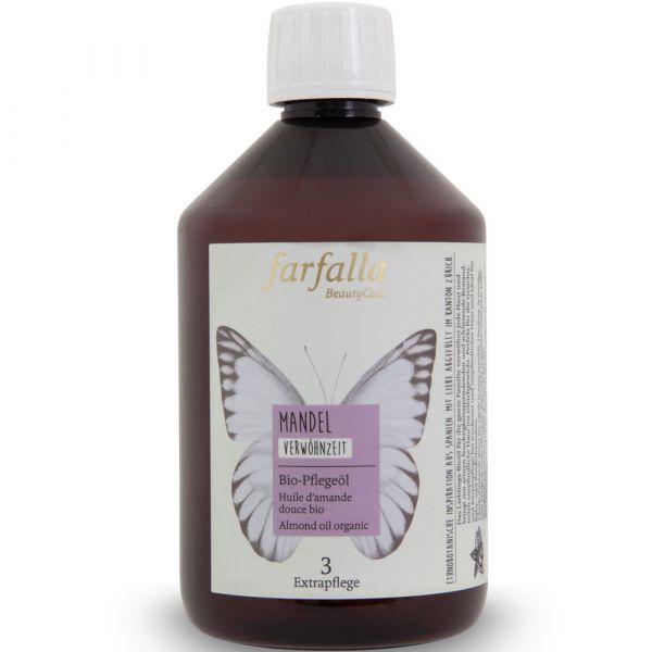 Farfalla Mandel Bio-Pflegeöl 500ml