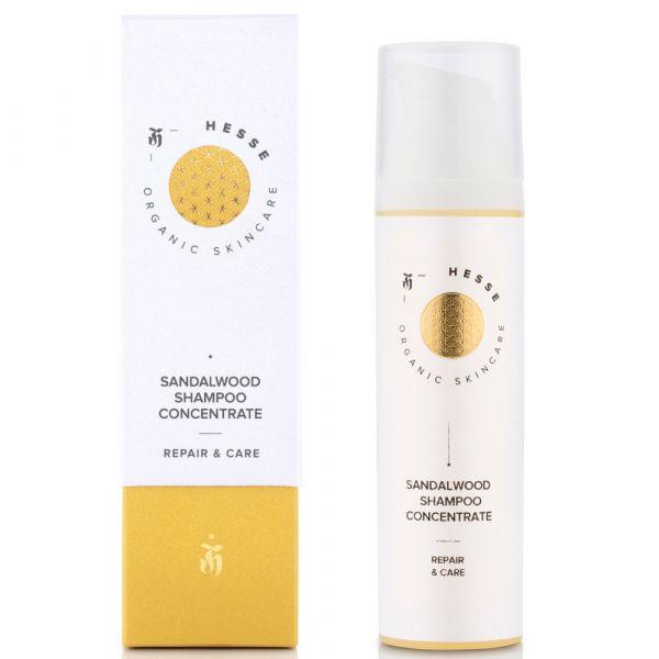 Hesse Organic Skincare SANDALWOOD SHAMPOO CONCENTRATE REPAIR & CARE