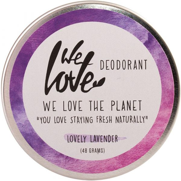 We Love The Planet Natürliche Deo Creme Lovely Lavender