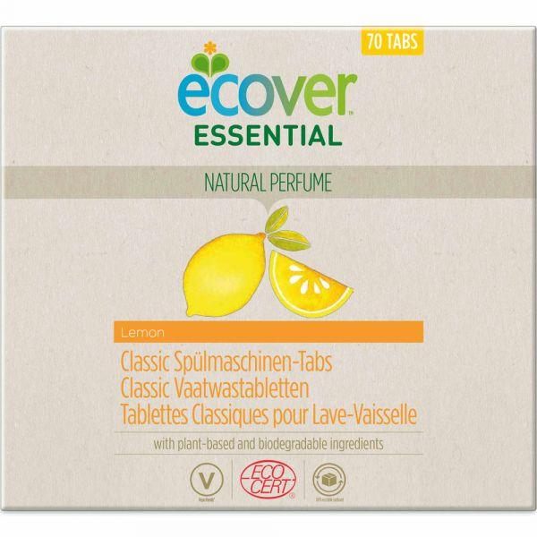 Ecover Essential Classic Spülmaschinen Tabs Zitrone 70 Stück