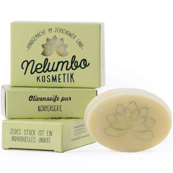Nelumbo Kosmetik Olivenseife pur
