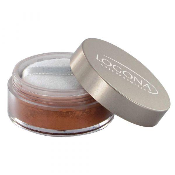 Logona Loose Face Powder  No.02 bronze
