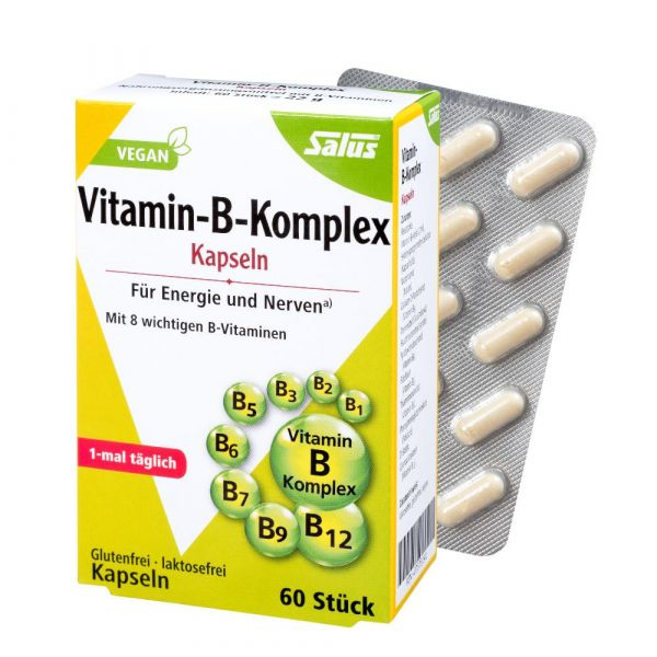Salus Vitamin-B-Komplex Kapseln