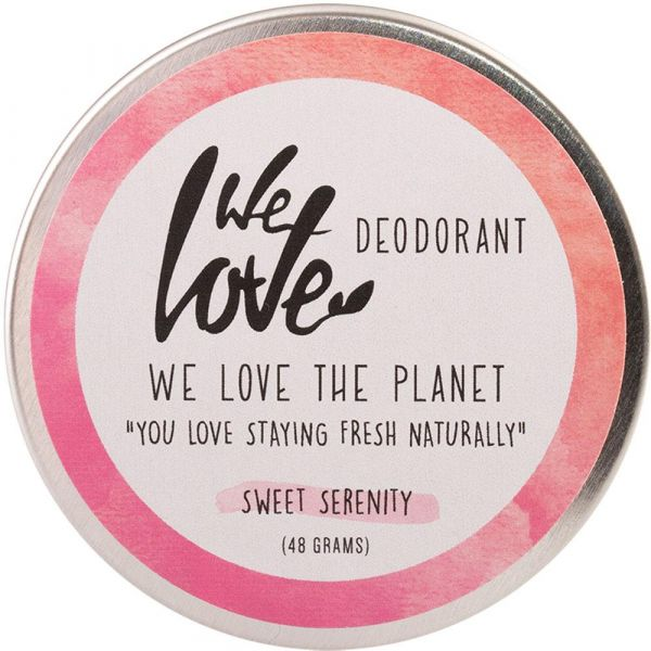 We Love The Planet Natürliche Deo Creme Sweet Serenity