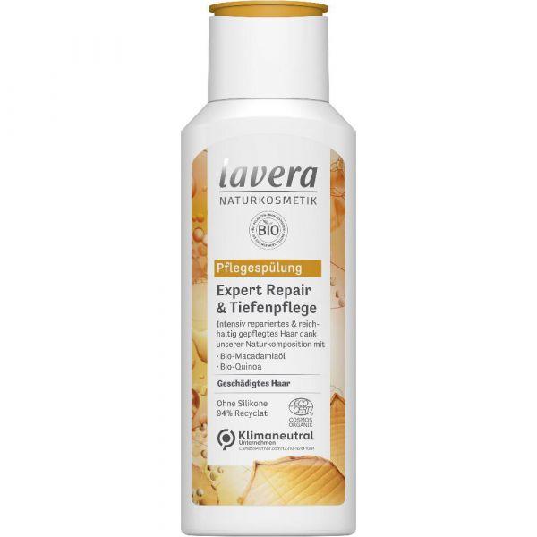Lavera PFLEGESPÜLUNG EXPERT REPAIR & TIEFENPFLEGE Bio-Macadamiaöl & Bio-Quinoa