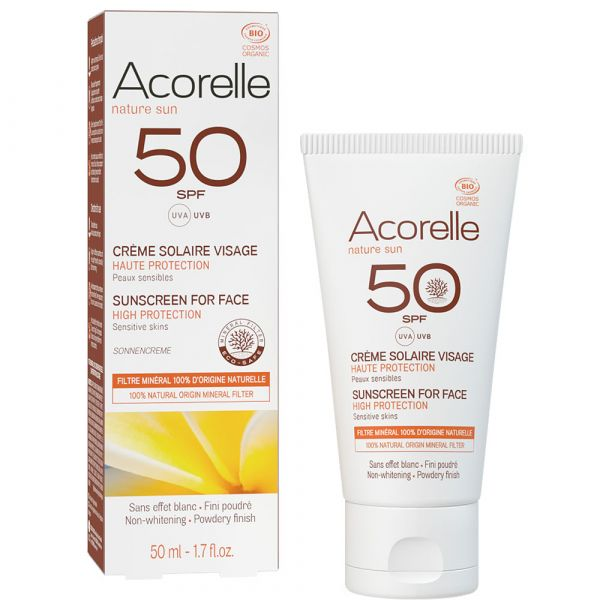 Acorelle Suncreme Gesicht LSF 50