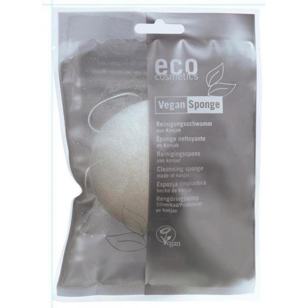 Eco Cosmetics Reinigungsschwamm aus Konjak
