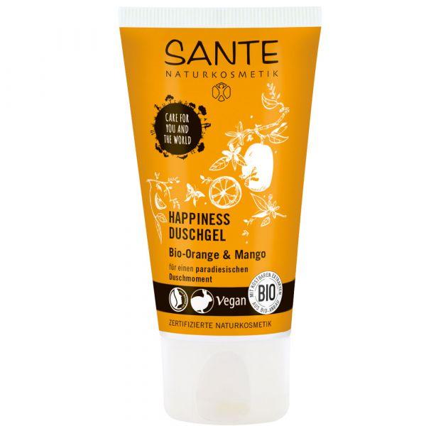 Sante Happiness Duschgel Bio Orange & Mango 50ml