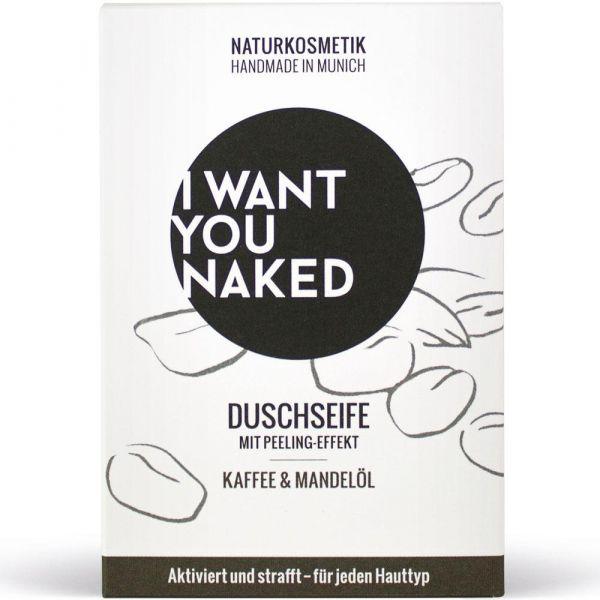 I Want You Naked Duschseife Kaffee & Mandelöl