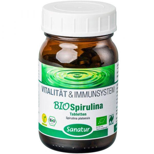 Sanatur Bio Spirulina Tabletten 250 Stück