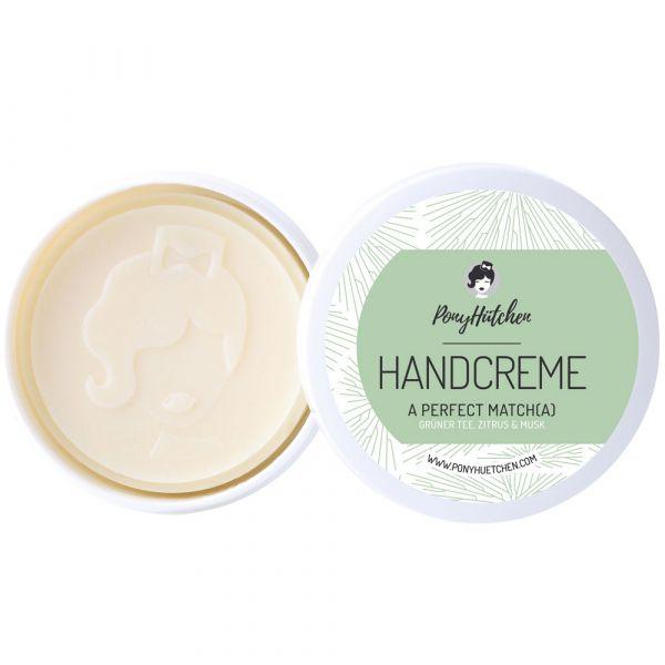 Ponyhütchen Feste Handcreme Solid Lotion a perfect matcha