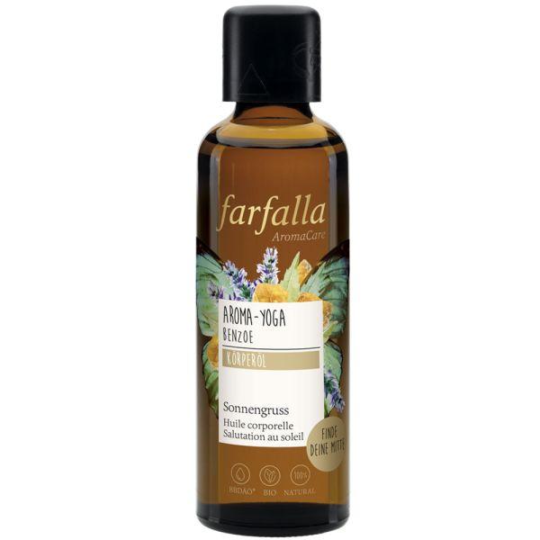 Farfalla Aroma-Yoga Benzoe Sonnengruss Körperöl
